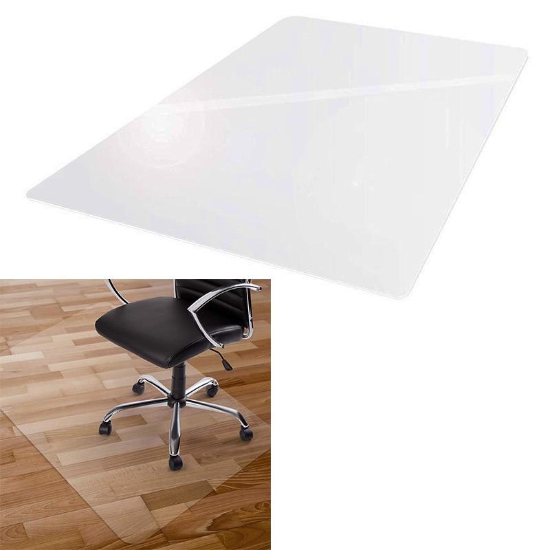 سجادة كرسي بولي كلوريد الفينيل ، وسادة أرضية صلبة وسادة حماية شفافة المتداول كرسي متحرك وسادة كرسي مكتب Cushion-1.5Mm