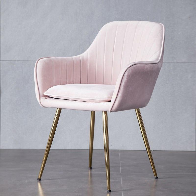Nordic Ins netto czerwony makijaż krzesło proste krzesło biurowe krzesło krzesło do jadalni stołek domowy restauracja krzesło WY430