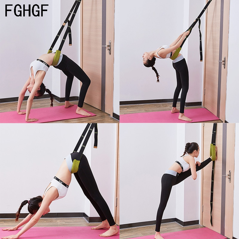 Tür Flexibilität Stretching Bein Strap für Ballett Cheer Dance Gymnastik Trainer Yoga Zubehör Yoga Gürtel