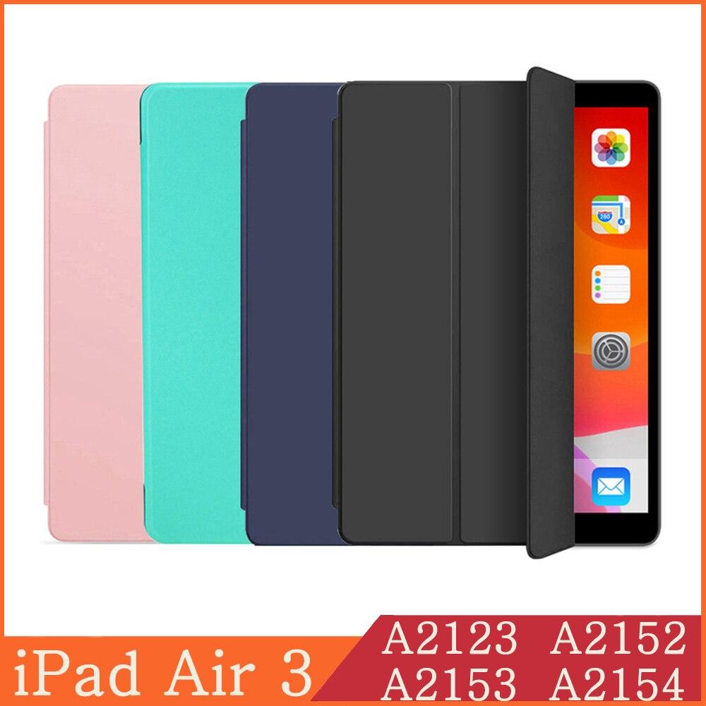 Funda de tableta para Apple iPad Air 3, Funda inteligente 2019 A2123 A2152 A2153 A2154 10,5, Funda magnética iPad Air 3th Generation