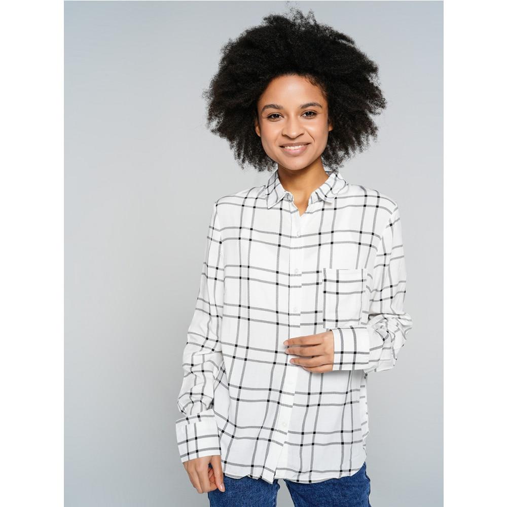 Блузка ТВОЕ женская черная FASHION
