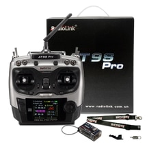 Radiolink AT9S Pro 12 canaux 2.4G RC émetteur contrôleur Radio prend en charge le protocole Crossfire avec RX R9DS