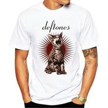 2021 lazer moda 100% algodão o-pescoço camiseta como linus ep deftones banda adrenalina gato