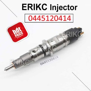 ERIKC 0445120414 Oil Seal Fuel Injection Assy Manufacturer 0 445 120 414 New Fuel Injector Assembly For Bosch CUMMINS 5256034