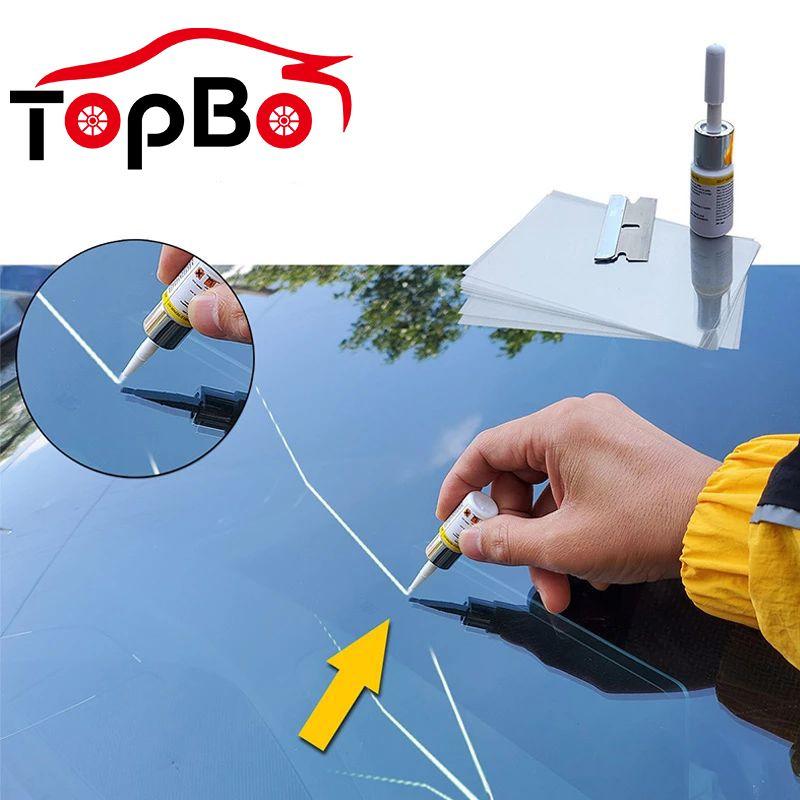 Набор для ремонта треснувшего стекла лобового стекла, жидкость для ремонта нано, «сделай сам», посуда для ремонта лобового стекла автомобил...