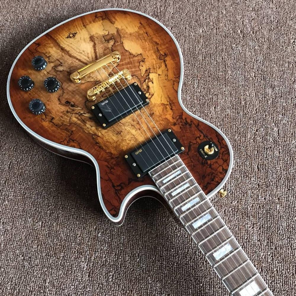 New style,Handwork Custom Durable Electric Guitar.High quality Pickups.Mahogany body guitarra. enlarge