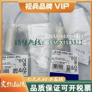 Original new 100% proximity switch E2EM-X4X1-M1J E2EM-X15X1-M1J