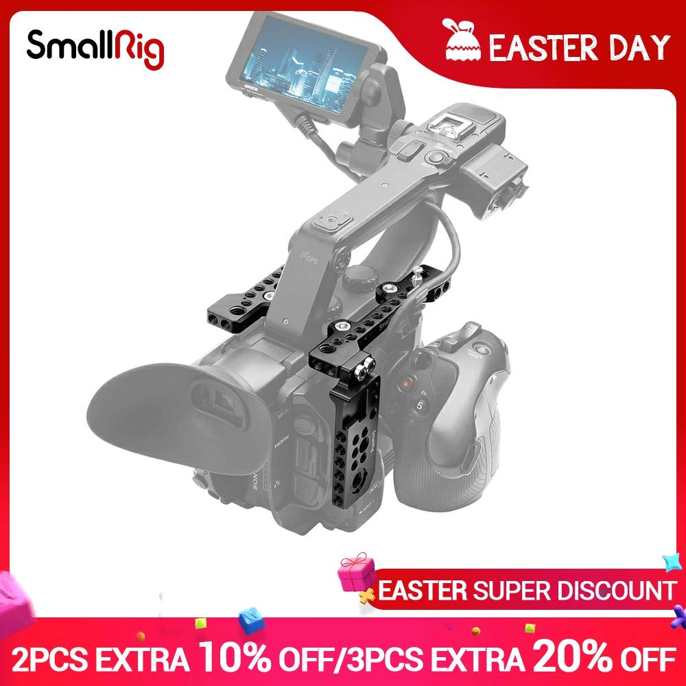 SmallRig-Kit de placa superior con placa lateral derecha para Sony PXW FS5,...