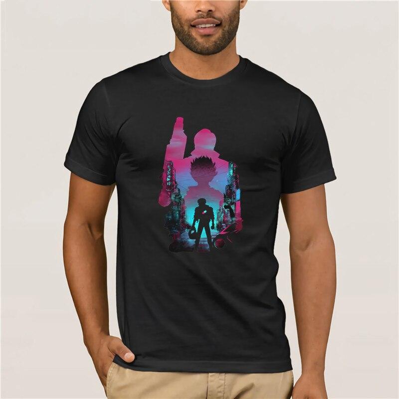 Neo Tóquio impresionante hombre Camiseta Hombre Nuevo Aira la c psula camiseta T shirt homens