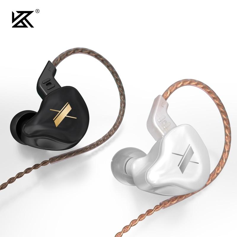 KZ EDX Metal Earphone 10mm Composite Magnetic Dynamic Drive Unit HIFI In Ear Earbud Sport Game IEM Z