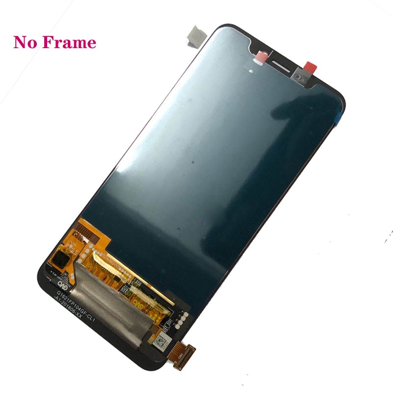 Original Amoled display For ZTE Axon 9 Pro lcd display oled+touch screen Digitizer assembly parts with frame enlarge