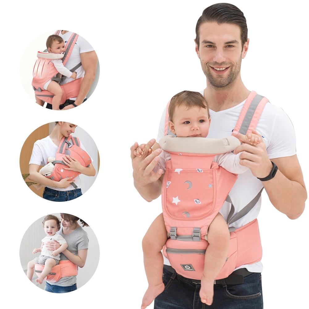 Ergonomic Baby Carrier Infant Kid Baby Hipseat Sling Wrap Carrier for Baby   Travel Hold Waist Belt Backpack Carrier Waist Stool