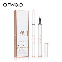 O.TWO.O Black Waterproof Eyeliner Liquid 24 Hours Long Lasting Not Smudge Matte Eye Liner Quick Dry Makeup