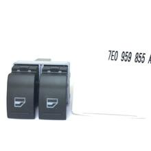 7E0959855A pour VW Transporter T5 T6 commutateur de fenêtre électrique côté conducteur OE #7E0 959 855A / 7E0 959 855 A 9B9
