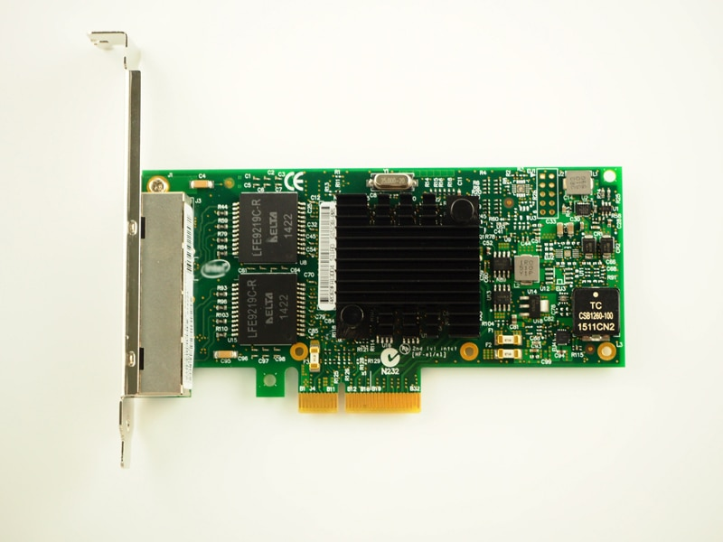 I350AM4 Chipset PCI-Express 4 puerto Gigabit Ethernet, servidor adaptador NIC I350-T4V2 envío gratis