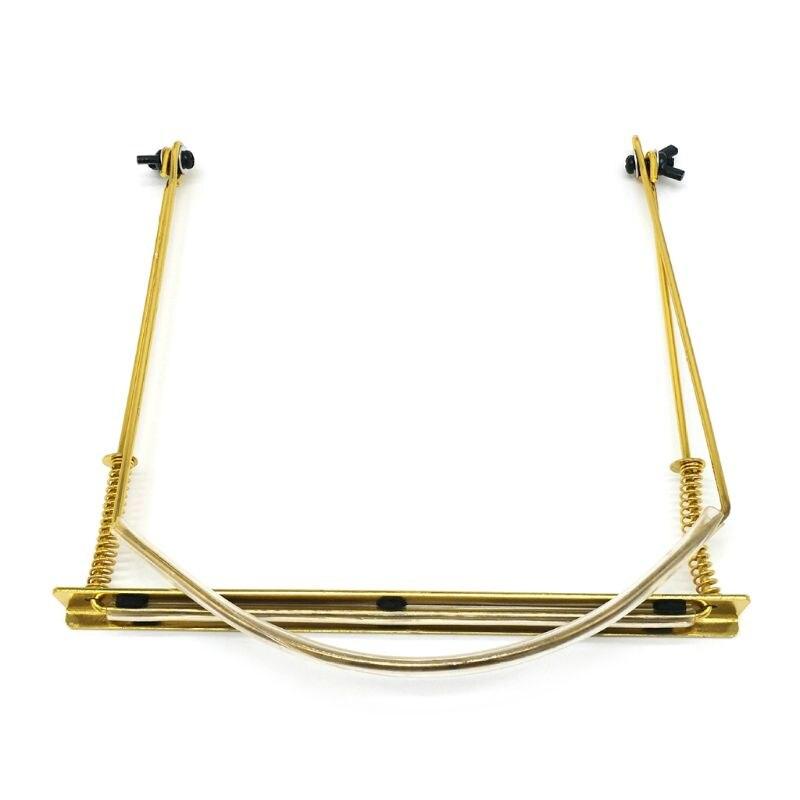 Profesional armónica cuello titular ajustable conveniente 24 agujero Rack Mount Stand G99D