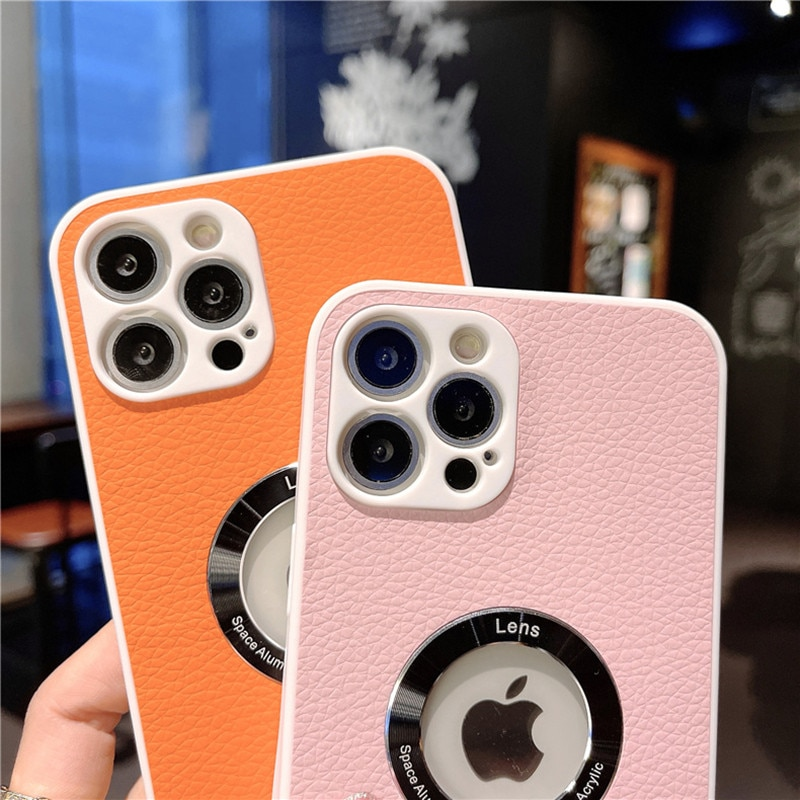 Official Soft Surface Layer Leather Case For iPhone 12 Pro Max 11 X XR XS Max 12 mini 7 8 6 Plus Lux