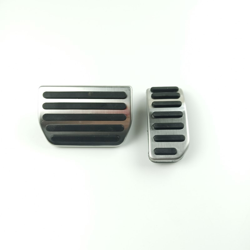 Acelerador de coche Brack Pedal Decortion Sticker Trim para Volvo XC60 S60 V60 Acero inoxidable antideslizante accesorios interiores