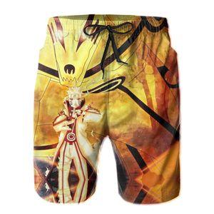 Japanese Anime,kakashi Loose Hokage10 Short Breathable Quick Dry Funny Novelty Hawaii Pants