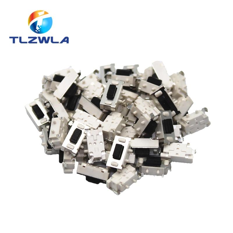 1000 Uds interruptor de Micro tacto táctil 3*6*3,5 3x6x3,5 SMD para MP3 MP4 Tablet botón Bluetooth auriculares Control remoto
