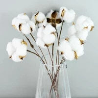 natural air dried home decoration fake flower branch wedding bridesmaid bouquet decoration fake white flowers colorful flowers