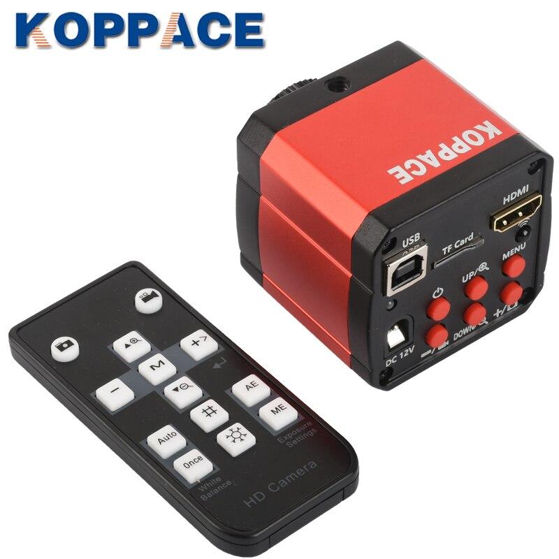 KOPPACE-كاميرا مجهر صناعي 16 مليون بكسل ، 1080 بكسل ، 60 إطارًا في الثانية ، HDMI/USB ، مجهر صناعي ، كاميرا رقمية