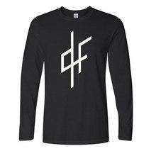 Novo qlf pnl t camisa armadilha rap modo paris ecriture manga longa camisa de algodão em torno do pescoço t camisa ville lumiere
