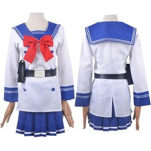 Japan Anime High-Rise Invasion Honjo Yuri Cosplay School Uniform Nise Mayuko Costumes JK Sailor Suit Full Set