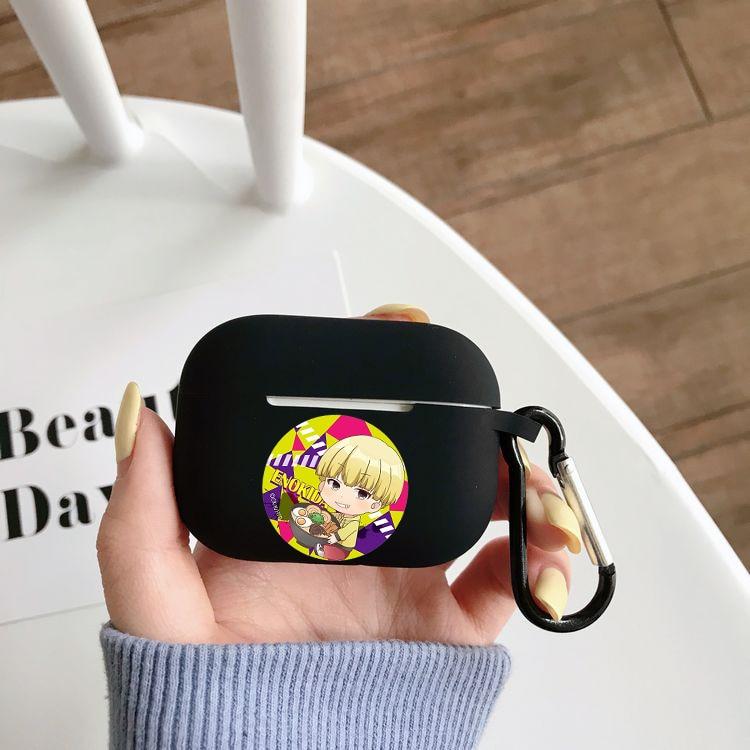 Силиконовый чехол с рисунком аниме Hakata Tonkotsu Ramens, чехол для Airpods Pro, беспроводной чехол с Bluetooth для Apple Airpods Pro, чехол для наушников чехол
