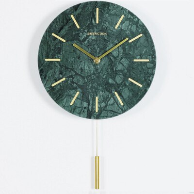 Creative Luxury Bedroom Pendulum Wall Clock Art Living Room Modern Design Unique Wall Clocks Decorative Wall Watch 2020 Ii50bgz Leather Bag