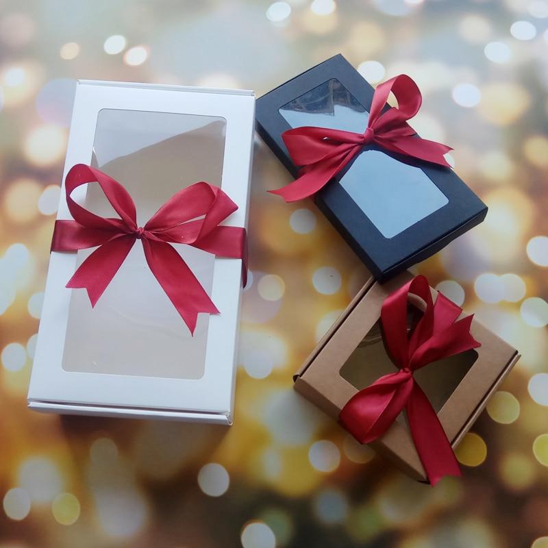 10 Uds boda cajas de paquete para regalos de fiestas caja con...