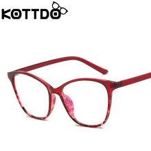 KOTTDO-lunettes pour les yeux   Classiques clairs, montures de lunettes pour hommes, Vintage Prescription femmes