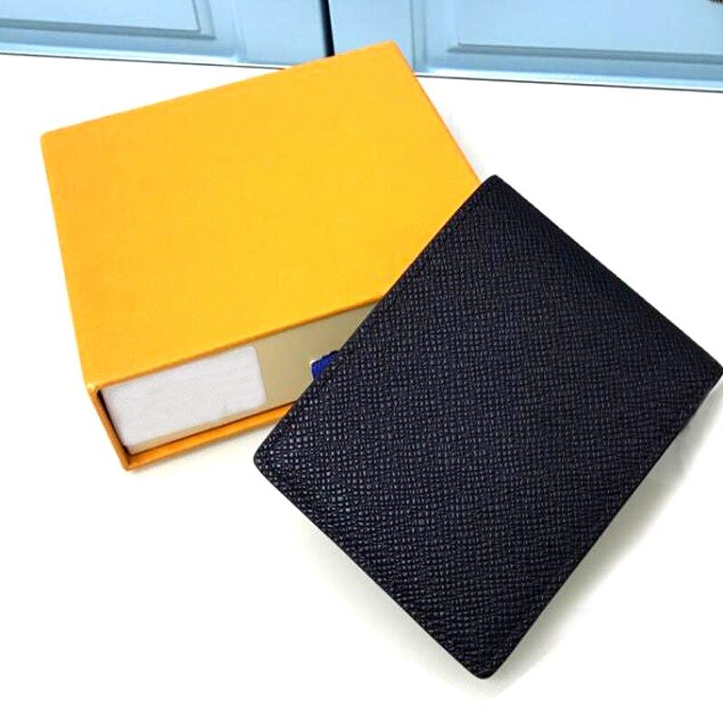 وصفت نوعية جيدة متعددة المال كليب للرجال حافظة بطاقات من الجلد الاسلوب المناسب حافظة للبطاقات القصيرة المرأة سيدة المحافظ مع صندوق