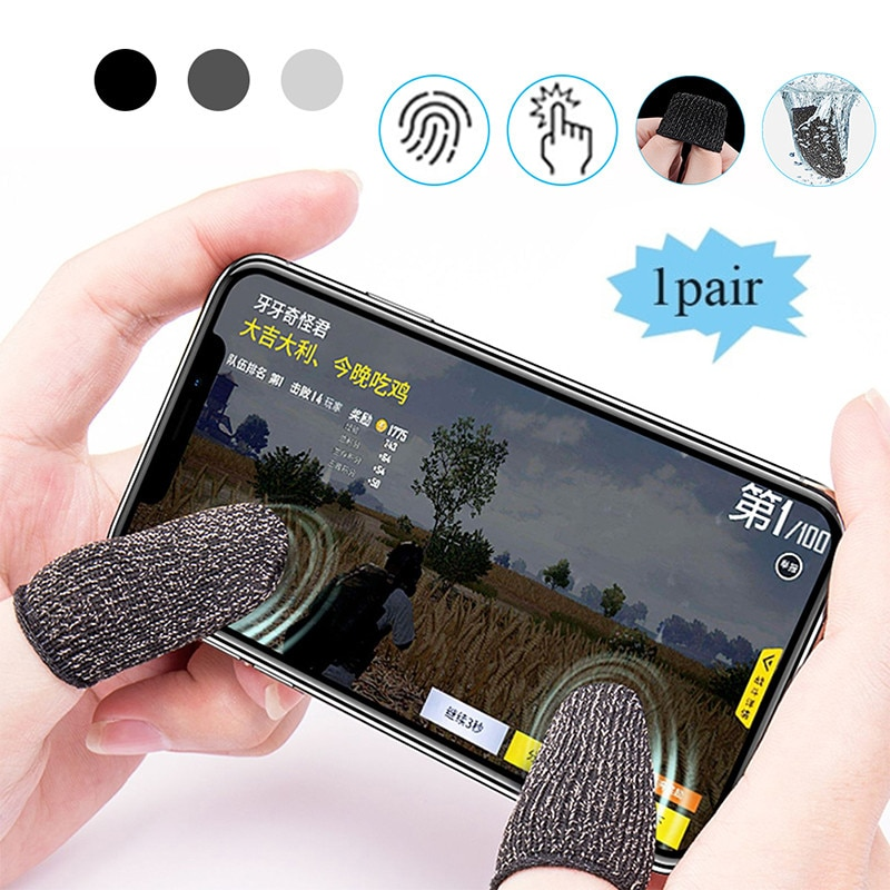 Finger Cots Phone Gaming Triggers Mobile Triggers Gatillos for PUBG Iphone Finger Sleeve Apple Iphon