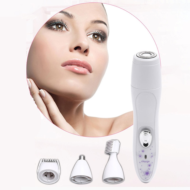 Trimmer For Intimate Areas Bikini Trimmer Female Electric Women'S Shaver Women Nose Hair Trimmer Epilator