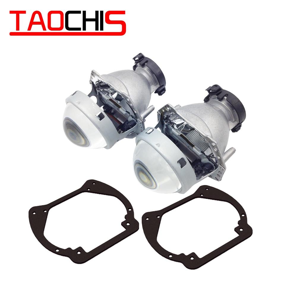 TAOCHIS adaptateur de cadre de transition de style de voiture Hella 3R G5 support de modification de lentille de projecteur pour DODGE RAM 2013
