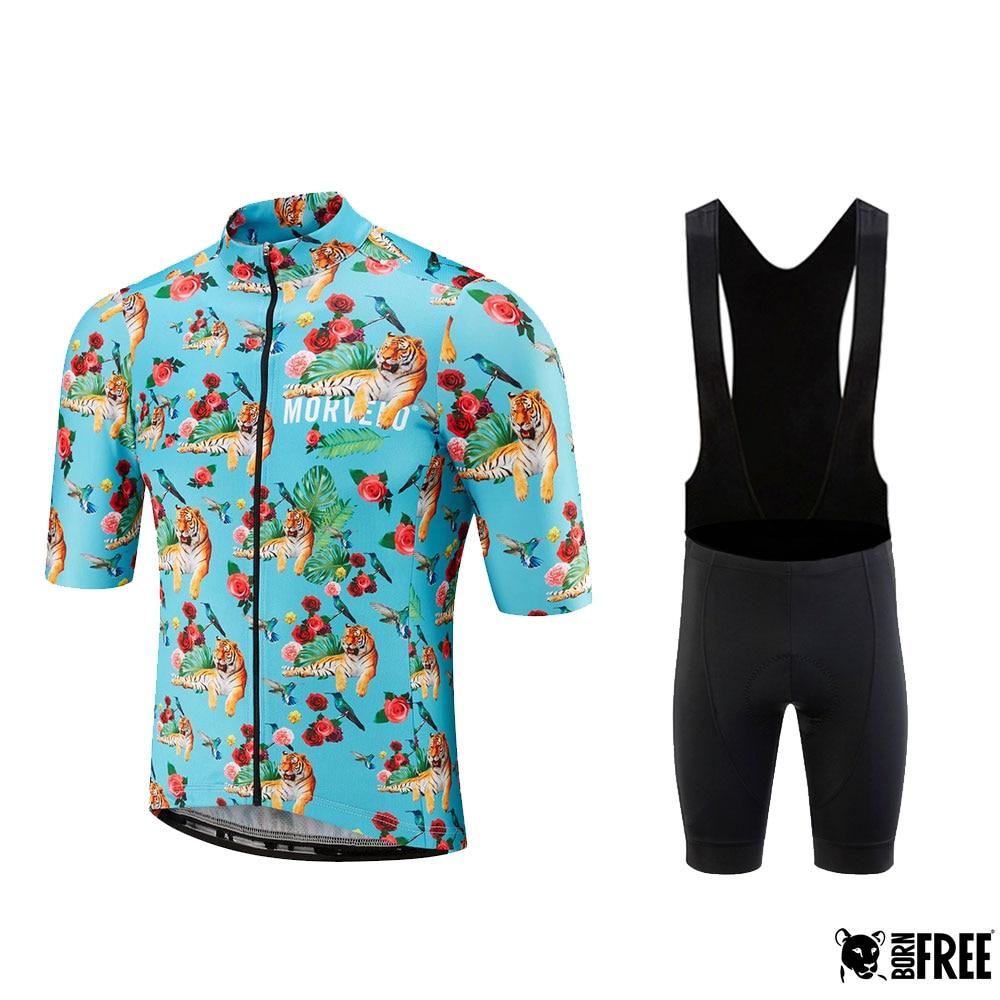 Morvelo hombres y mujeres Ciclismo jersey conjunto verano bicicleta Ropa Maillot Ropa Ciclismo MTB Ropa deportiva traje Ciclismo