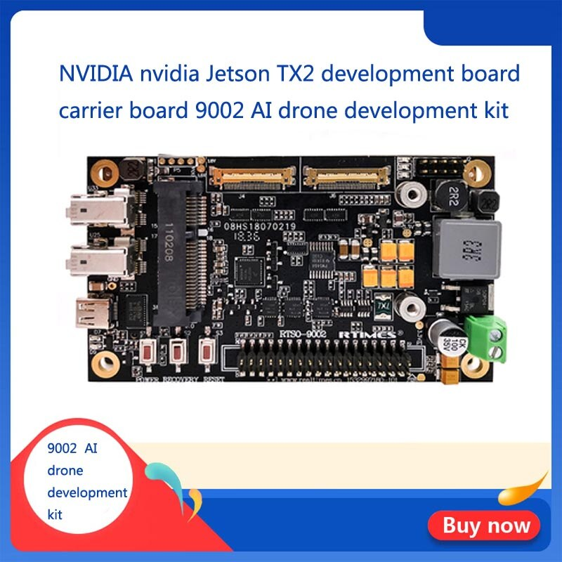 NVIDIA nvidia Jetson TX2 Placa de desarrollo, tablero portador 9002 AI drone kit de desarrollo