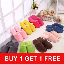 2 Pairs Winter Shoes Women Shoes Thick Fluffy Warm Home Slippers