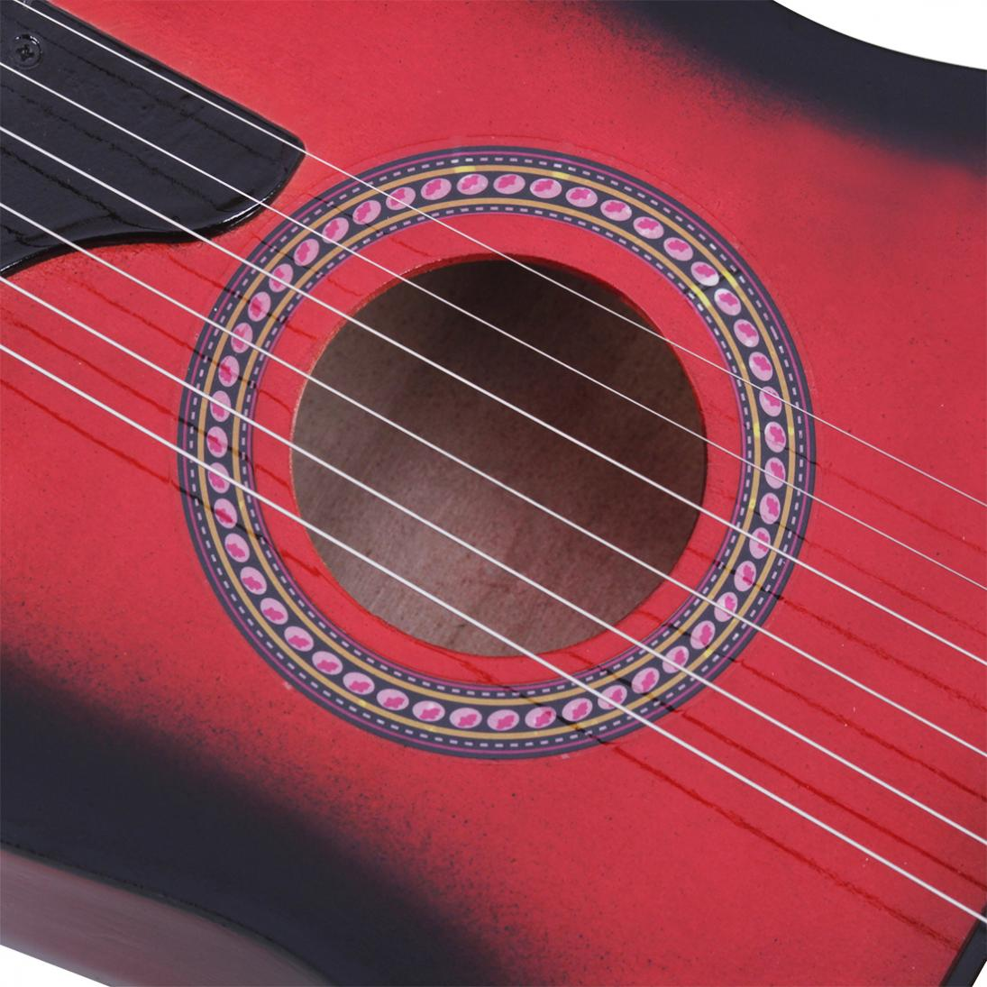 25 Inch Basswood Acoustic Guitar with  Pick Strings for Children and Beginner Send gifts Musical Stringed Instrument hot enlarge