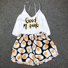 New Sexy Pijamas Women Pajama Set Silk Home Suit Animal Print Summer V Neck Pyjama Woman Strap Loose