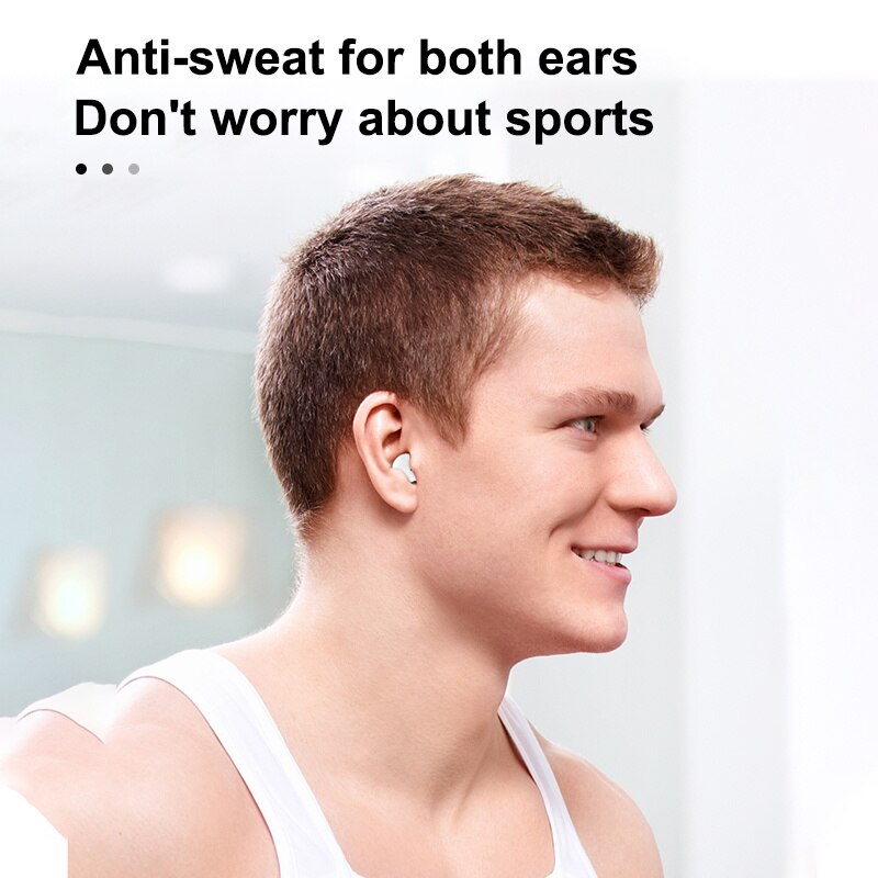 X26 Ultra Mini Wireless TWS Earphone Hidden Small Bluetooth Headset Touch Control Earbud With LED Power Display enlarge