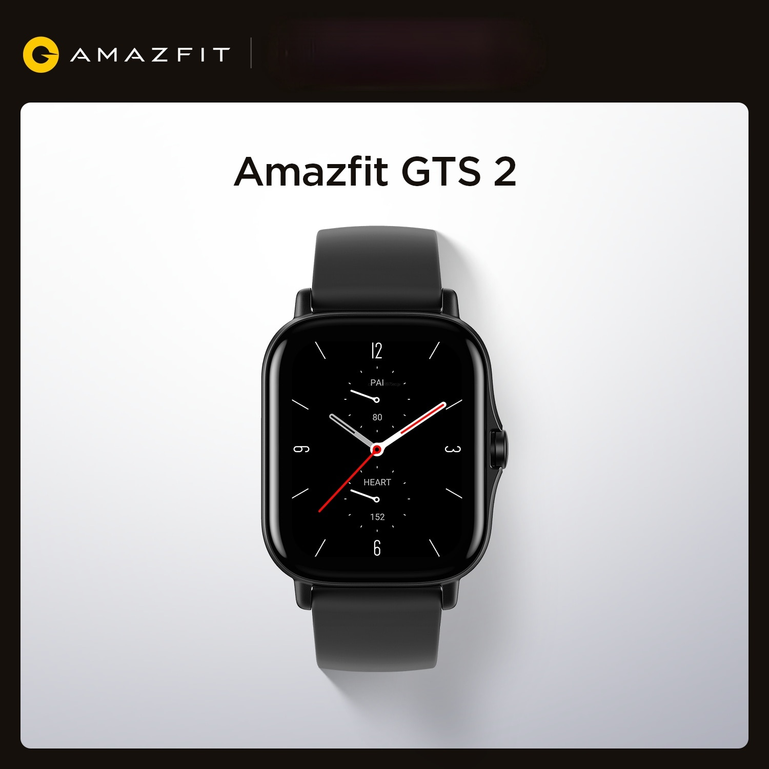 Xiaomi Mijia Amazfit GTS 2 Smartwatch 5ATM Water Resistant AMOLED Display Long Battery Life Smart Watch For Smart Android IOS