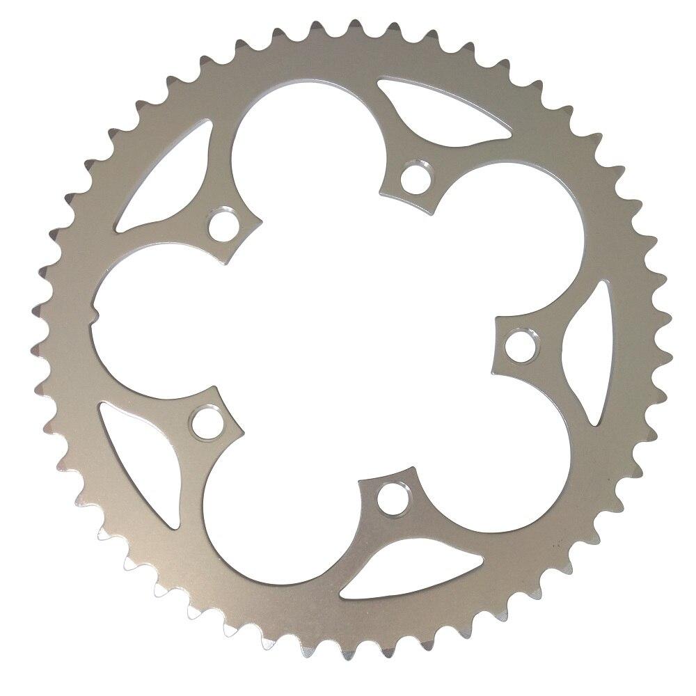 TRUYOU Kette Rad Straße Fahrräder Teile Kurbel Fahrrad Kettenblatt 110BCD 34T 36T 38T 39T 42T 48T 50T 53T CNC Silbrig Kette Ringe