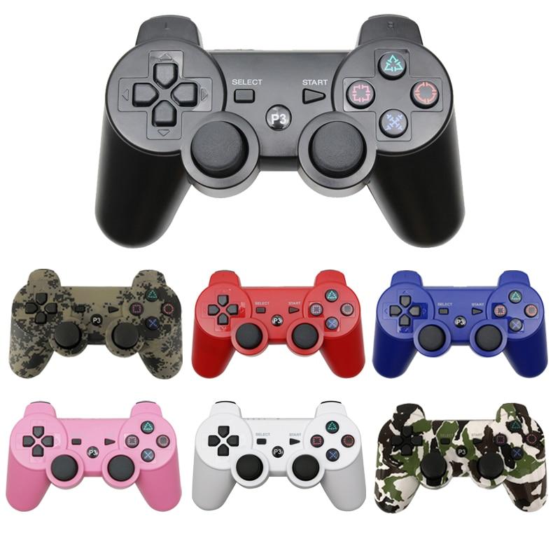لوحة ألعاب لاسلكية للتحكم في وحدة التحكم في عصا التحكم PS3 لوحدة التحكم في جهاز الكمبيوتر USB لـ ps4 3 ملحقات Joypad دعم بلوتوث