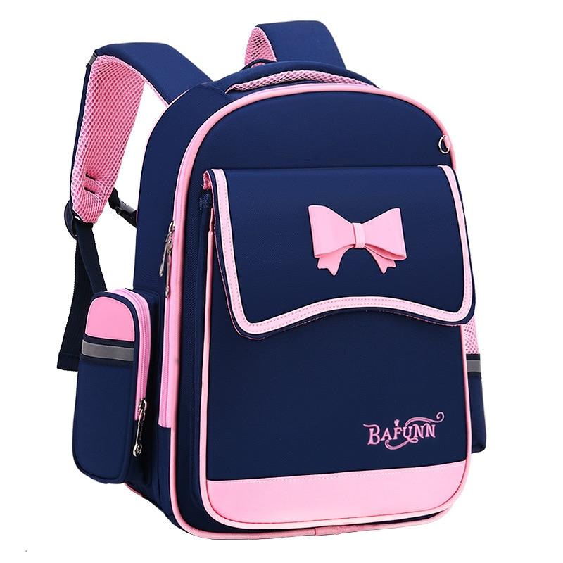 الأطفال الحقائب المدرسية للفتيات العظام على ظهره الاطفال الأميرة على ظهره حقيبة مدرسية حقيبة المدرسة الابتدائية الاطفال حقيبة mochila