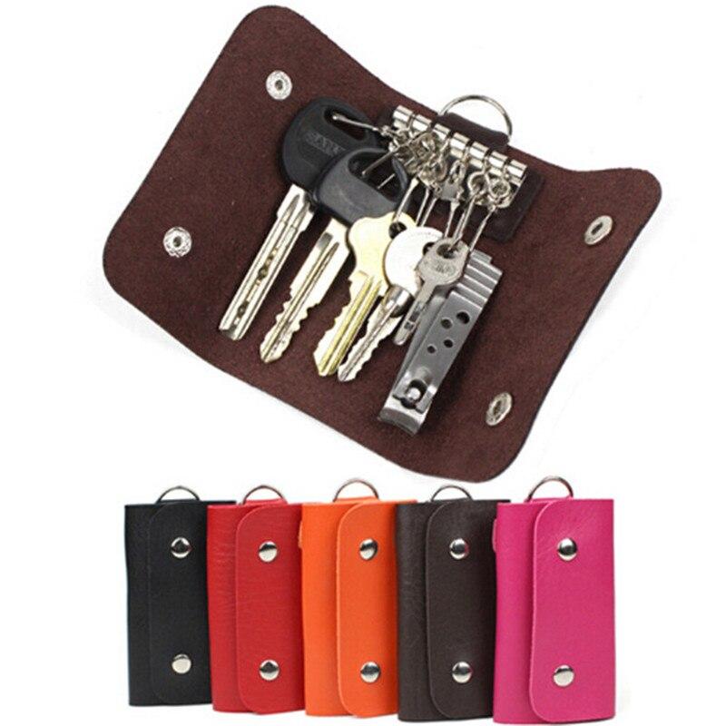 2021 Women Men Key Holders Vintage Keys Organizer Fashion Solid Car Keychain Housekeeper Keychain Co