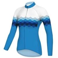 outdoor travel 2021 new design women long cycling jersey bicycle motocros shirt bike downhill clothing ride road mountain jacket