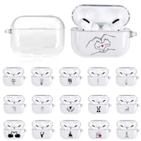 for apple airpods pro 3 silicone protective sleeve bluetooth wireless dust proof headphone cover earphone accessories