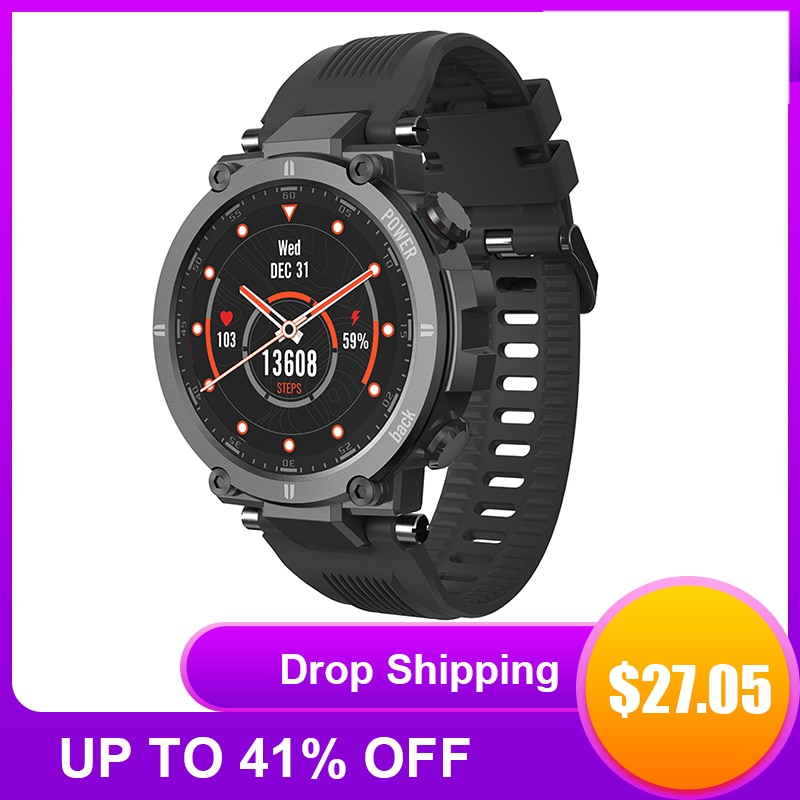 2021 NEW Smart Watch IP68waterproof Men Women Heart Rate Monitor Bluetooth Connect Smartwatch Fitness For KOSPET Raptor Watches